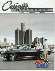 2004 National Convention in Windsor - The Corvette's Restorer Vol 31, #2, 2004