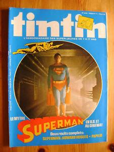 Journal Tintin n° 183 - Le mythe Superman Tintin Story - France - État : Trs bon état: Livre qui ne semble pas neuf, ayant déj été lu, mais qui est toujours en excellent état. La couverture ne présente aucun dommage apparent. Pour les couvertures rigides, la jaquette (si applicable) est incluse. Aucune p - France