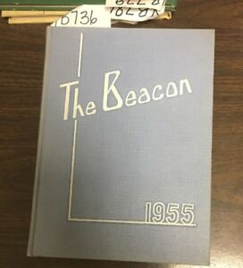 Details About Yb736 St Louis Missouri Mo Grover Cleveland High School 1955 Yearbook The Beacon