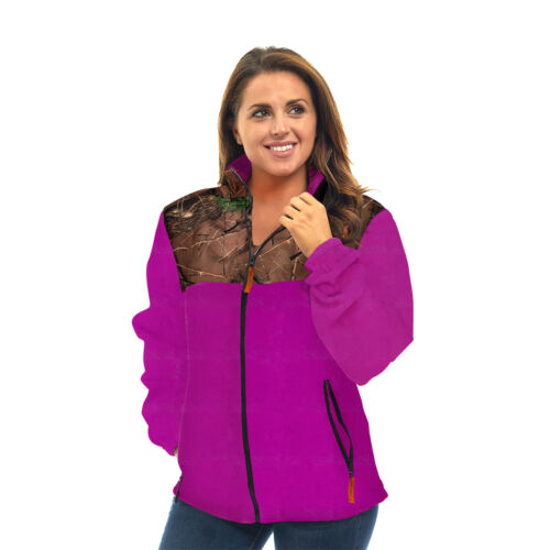 Giacca maniche donna zip in da pile leggera a con vestibilità morbide corte con rtftqp