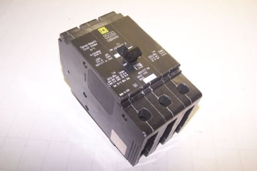 NEW SQUARE D 50 AMP 480Y//277 VAC BOLT ON CIRCUIT BREAKER EGB34050