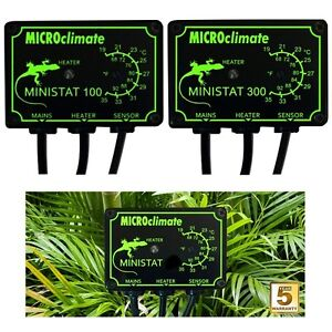 Microclimate Ministat 100w 300w Reptile Heat Vivarium On