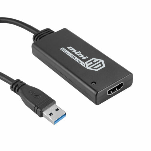 USB 3.0  to HDMI HDTV Adapter Cable External Graphics Audio Card Converter 1080p