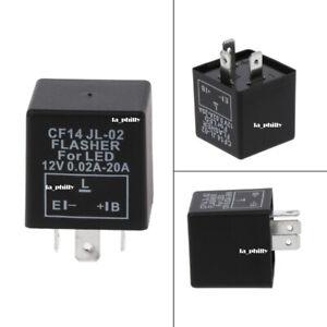 3-Pin-CF14-JL-02-12V-LED-Flasher-Relay-Car-Turn-Signal-Indicator-Blinker-Light