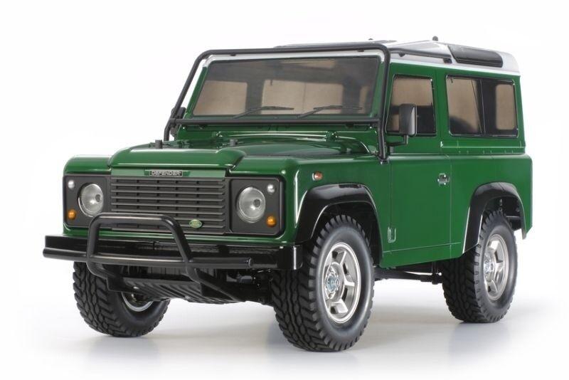 TAMIYA Land Rover Defender 90 Scaler 1 10 Kit con regolatore, LED - 300058657