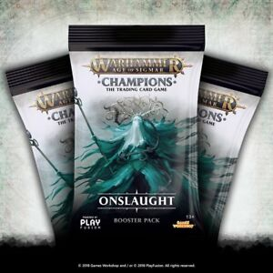ONSLAUGHT wave 2 FOILS Warhammer Age of Sigmar Champions TCG