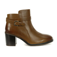 Hush Puppies Women's Hannah Strap Boots Dachshund Leather HW06586-210 NEW!