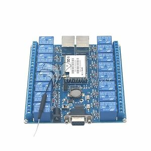 Details about 16 Channel WIFI Network IO P2P Remote Control Relay f/  Arduino Relay Android iOS