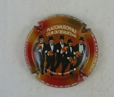 capsule de champagne BRISSON JONCHERE CHAOURCE   N° 11 b