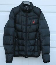 Mens Spyder Down Filled Puffer Jacket size XL