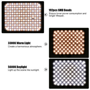 Purchase from 1 OK Viltrox VL-200 192 Beads LCD Dimmable