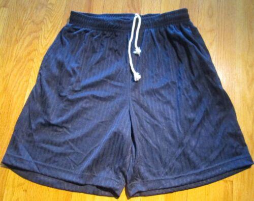 Men/'s Sport Short 100 Polyester Medium Plain 6 pc 5 color 2 Pocket Draw String