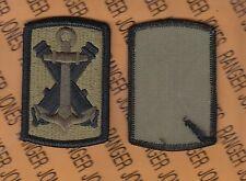 US Army 103rd FA Field Artillery Brigade OCP Scorpion Hook & Loop uniform patch
