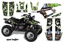 Yamaha Warrior350 AMR Racing Graphic Kit Wrap Quad Decals ATV All Years MAD HATR