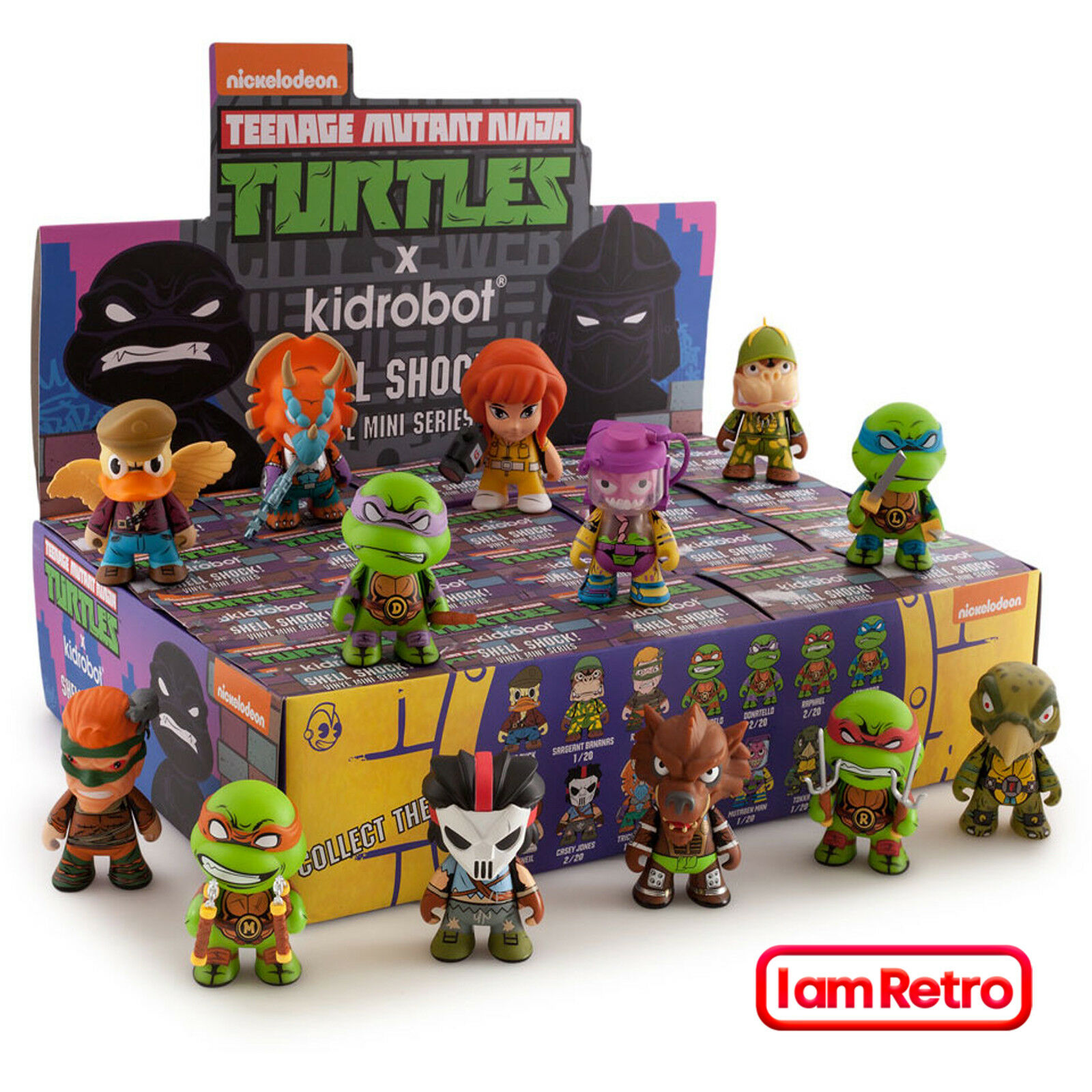 Tmnt Teenage Mutant Ninja Turtles Shell Shock serie 2 Mini Caja Precintada Kidrobot