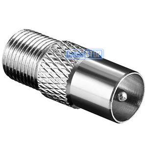 MALE-COAX-to-F-TYPE-FEMALE-SOCKET-TV-Aerial-Sky-Connector-Adapter
