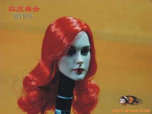 BELET-1-6-Scale-Female-Headsculpt-Red-Hair-F-12-034-Phicen-Ht-Body-Figure-BT015