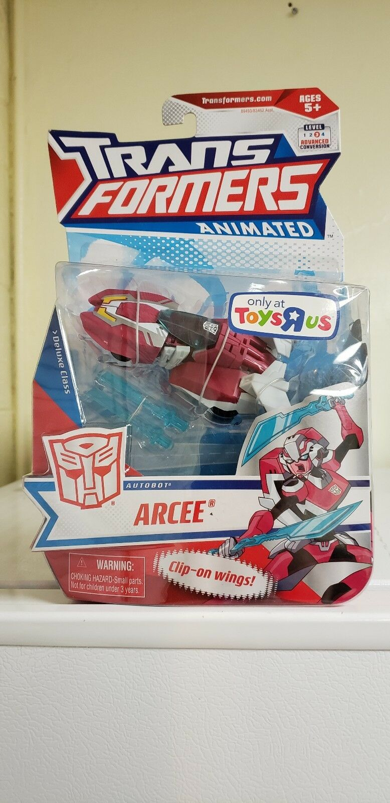 Transformers Animated Arcee New Deluxe TRU Toys R Us exclusive