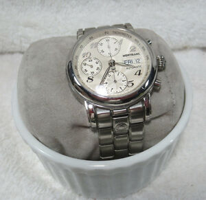 df32bd01727e La imagen se está cargando Reloj-Montblanc-Meisterstuck -Automatico-Cronografo-38-mm-4810-
