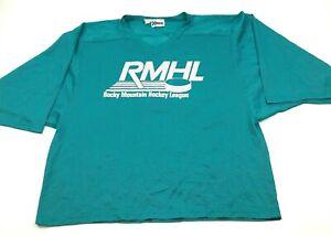 NEW VINTAGE RMHL Colorado Rocky Mountain Goalie Hockey Jersey One Size L - 2XL