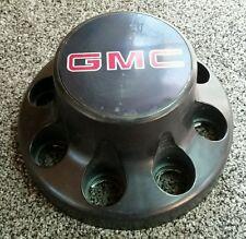 ☆1991 - 1998 GMC SIERRA 3500 REAR DUALLY BLACK 8 LUG CENTER CAP 15551468 #51-6N