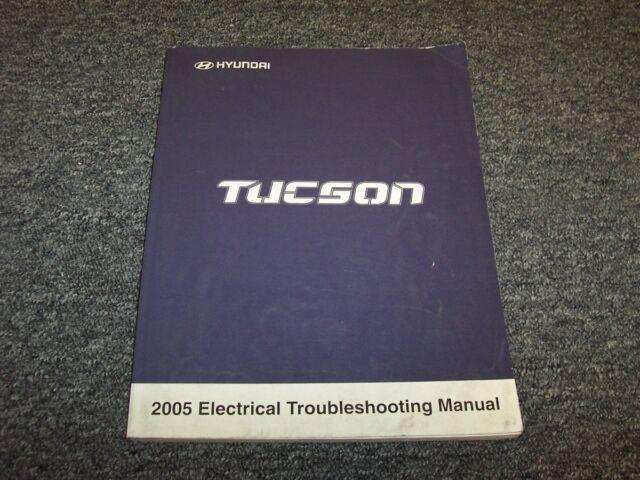 2005 Hyundai Tucson Electrical Wiring Diagram Manual Book