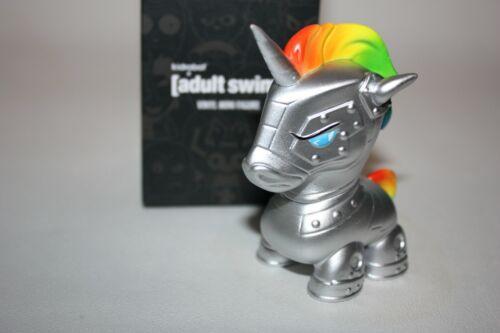 KIDROBOT ADULT SWIM ROBOT UNICORN ATTACK CARTOON NETWORK DESIGNER TOY ART