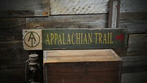 Appalachian-Trail-Wood-Sign-Rustic-Hand-Made-Vintage-Wooden-Sign-ENS1000181