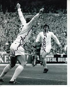 EDDIE GRAYMICK JONES HAND SIGNED BW PHOTOGRAPH 10 x 8 INCH LEEDS UTD - Halesworth, United Kingdom - EDDIE GRAYMICK JONES HAND SIGNED BW PHOTOGRAPH 10 x 8 INCH LEEDS UTD - Halesworth, United Kingdom