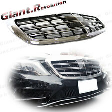 Tune To Maybach S65 Style Front Grille Fit 2014 UP BENZ W222 S500 S600 Sedan 4DR