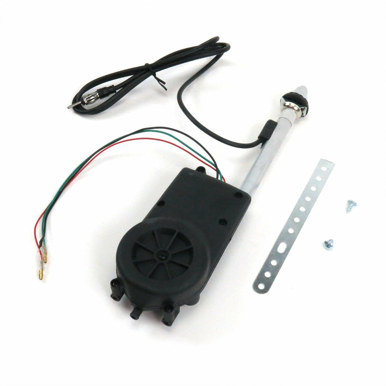 Automotive Antennas Chrome Power antenna Upgrade fits 40 ...