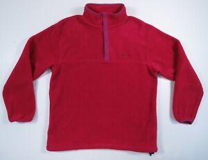90/'s L.L Bean Fleece Snap T Pullover Size Women/'s Medium