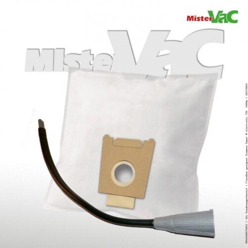 10xStaubsaugerbeutel+Flexdüse geeignet Siemens VS71128//03 super 711 electronic