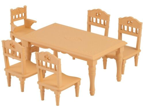 Epoch Calico Critters Families Furniture dining table set