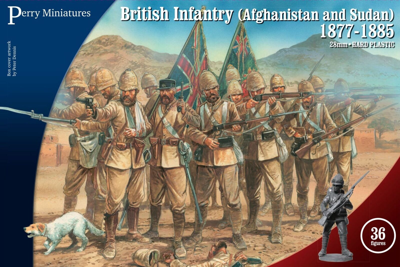 Perry Miniatures British Infantry Afghanistan and Sudan 1877-1885 28mm Anglo