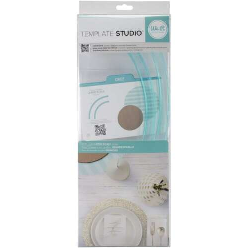 American Crafts We R Memory Keepers Template Studio Circle Template