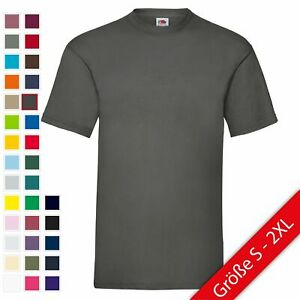 Fruit of the Loom UNISEX T-Shirt Bestseller Top Angebot Herren Damen NEU