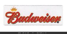 BUDWEISER Aufnäher Aufbügler Patch Nascar Racing Team Indycar V8 USA