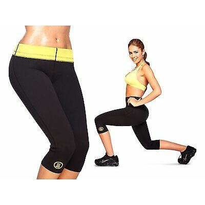 PANTALONE FITNESS PANTALONCINO HOT SHAPERS PALESTRA SNELLENTE FITNESS DIMAGRANTE