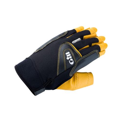 Handschuhe Bekleidung Gill Pro Short Finger Segelhandschuhe 2018 Schwarz