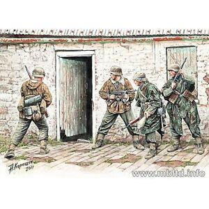 GERMAN-INFANTRY-WESTERN-EUROPE-1944-1945-4-FIG-WWII-1-35-MASTER-BOX-3584-DE