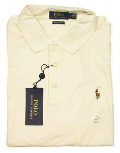 ralph lauren cream polo shirt
