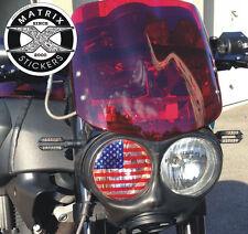 Sticker de phare USA pour BUELL XB  - D=99mm
