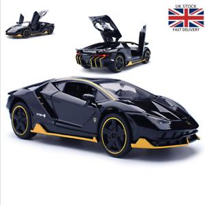 LP770-1-32-Lamborghini-Alloy-Sports-Model-Diecast-Sound-Light-Super-Racing-Car