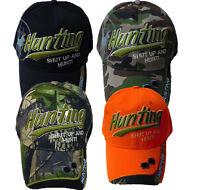 Hunting shut Up And Hunt Camouflage Camo, Black & Orange Baseball Cap Hat