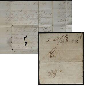Savannah GA 1780(British Occupation)Sailor's shipletter to Scotland v Portsmouth