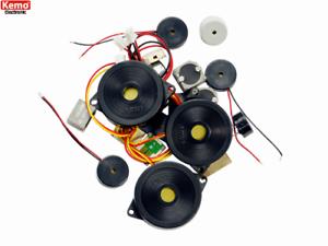 Kemo s105 Piezo-Haut-parleur et microphone environ 20 pièces