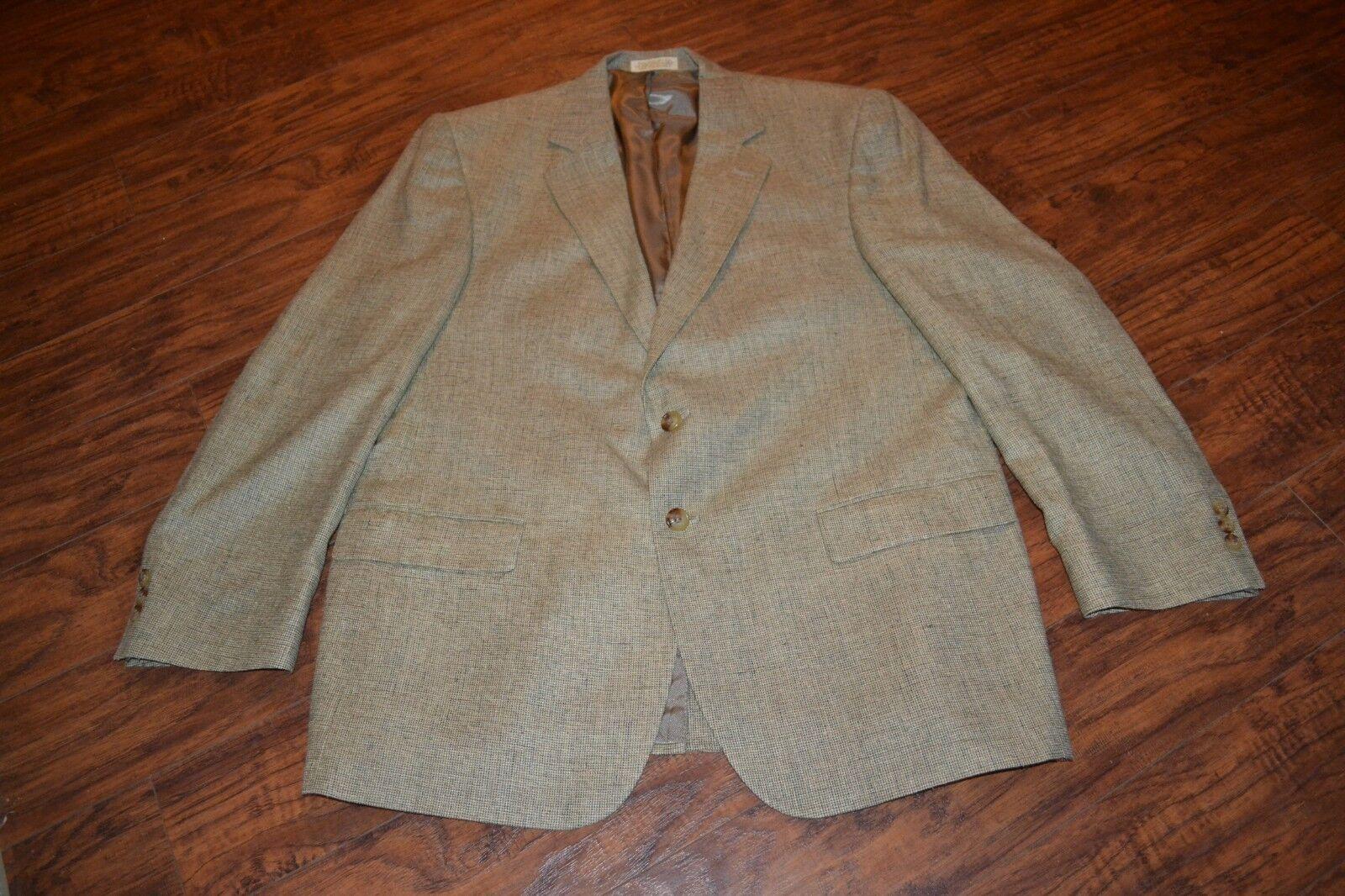 E28- Orvis 100% Silk Sport Coat Größe 44R