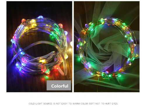20 LEDs Solar Powered Mini LED Copper Wire String Fairy Lights 2M Home Hot Sale