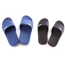 1 Pair Men Slip On Sport Slide Sandals Flip Flop Shower Shoes Slippers Nice New